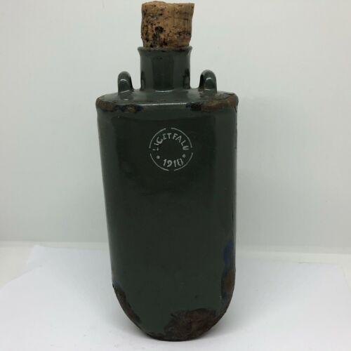 Original WW I WW1 Austria - Hungary flask canteen LIGETFALU 1918