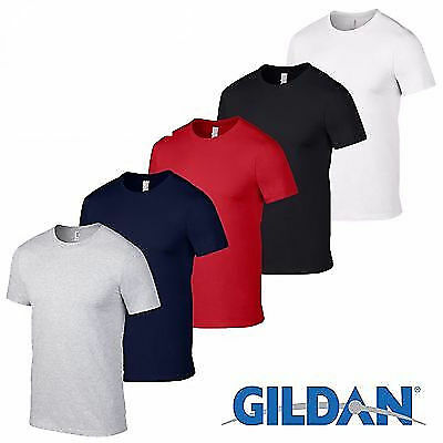 5 Pack Plain Blank Gildan 100  Heavy Cotton T Shirt Multi Colors In Stock