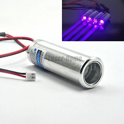 405nm 250mw 3.6-5v Blueviolet Laser Dot Diode Module Thick Beam Bar Stage Light