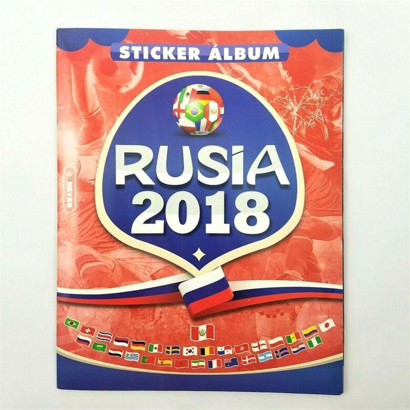 RARE UNOFFICIAL MINI PANINI ALBUM STICKERS FIFA WORLD CUP RUSSIA 2018 MINIATURE!