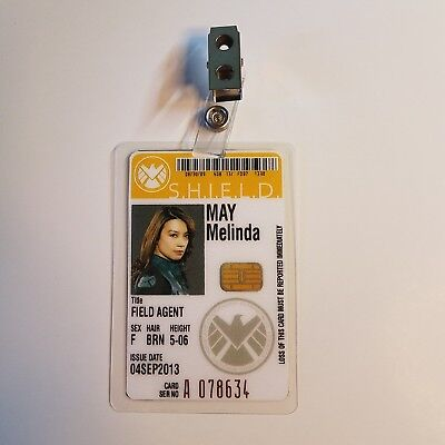 Agents Of Shield ID Badge - Field Agent Melinda May cosplay prop costume