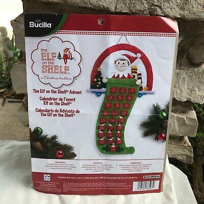 Bucilla Elf On The Shelf Advent Calendar