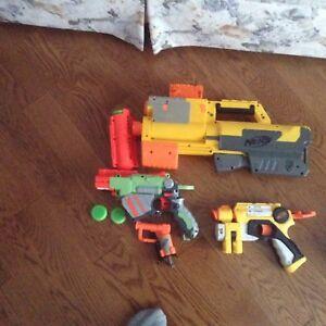 Nerf Dart Guns