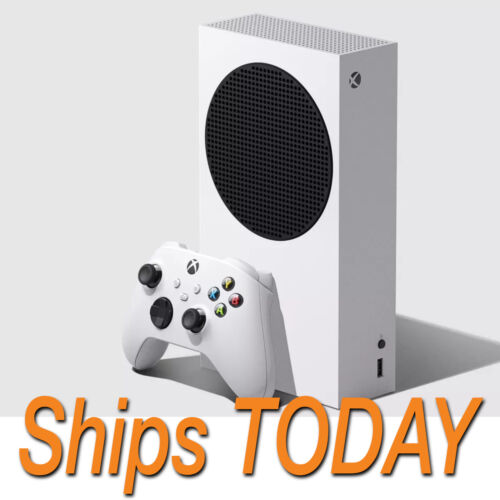 🔥SHIPS TODAY🔥XBOX SERIES S 512GB Digital Console Microsoft FREE ✈️FEDEX 2DAY