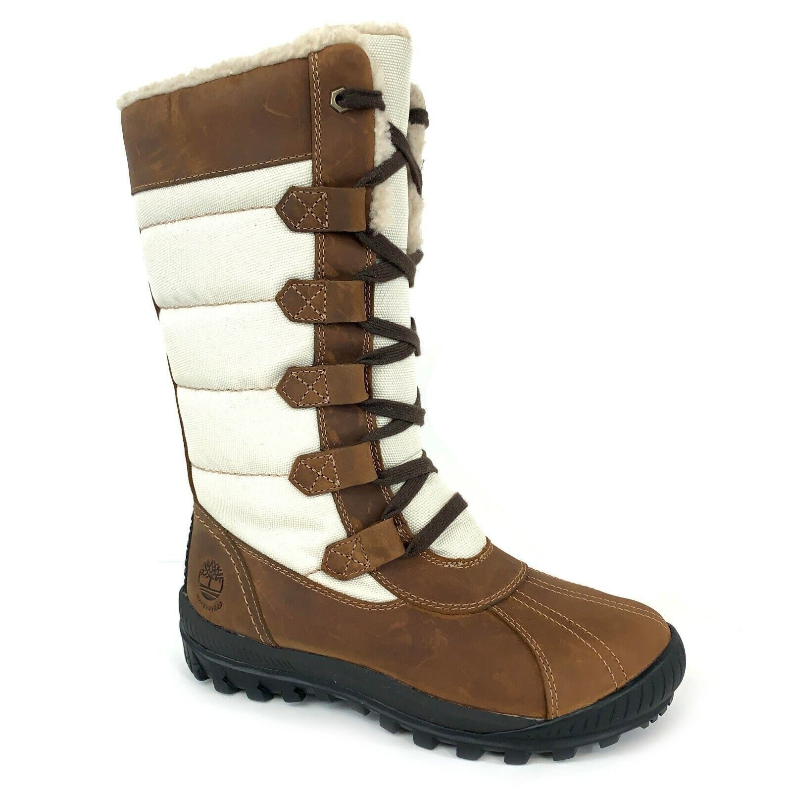 Timberland Women's MT. Hayes Tall Waterproof Brown Boots 6910B Size 6.5