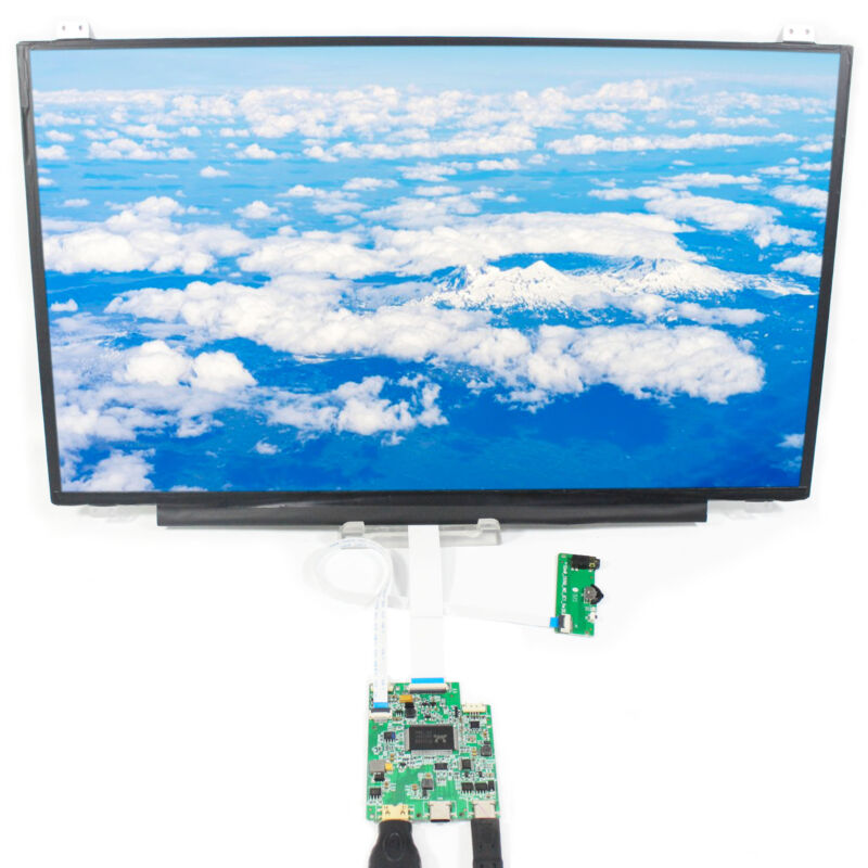 Type  C HD MI LCD Controller Board 15.6inch B156HAN01 1920X1080 IPS LCD Screen