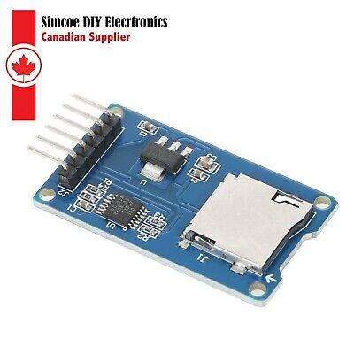 Micro Sd Tf Card Memory Shield Module Spi Micro Sd Adapter For Arduino 400