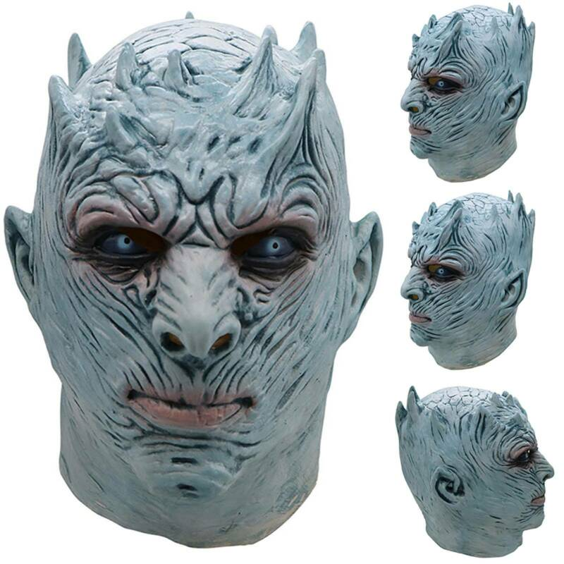 Game of Thrones White Walker NIGHT'S KING Cosplay Mask Fancy