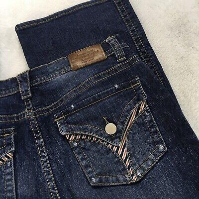 Tommy Jeans Premium Red Label Size 11 Blue Denim Jeans Bootcut Jeans Red Bootcut Premium Denim