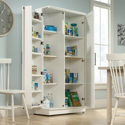 "Kitchen Swing-out Storage Door Pantry Cabinet Food Cupboard Organizer 72""H"
