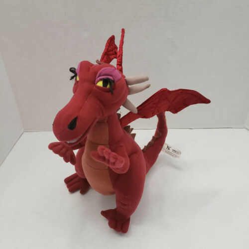 Nanco Shrek Red Dragon Donkeys Wife Plush Stuffed Animal Doll DreamWorks 2004
