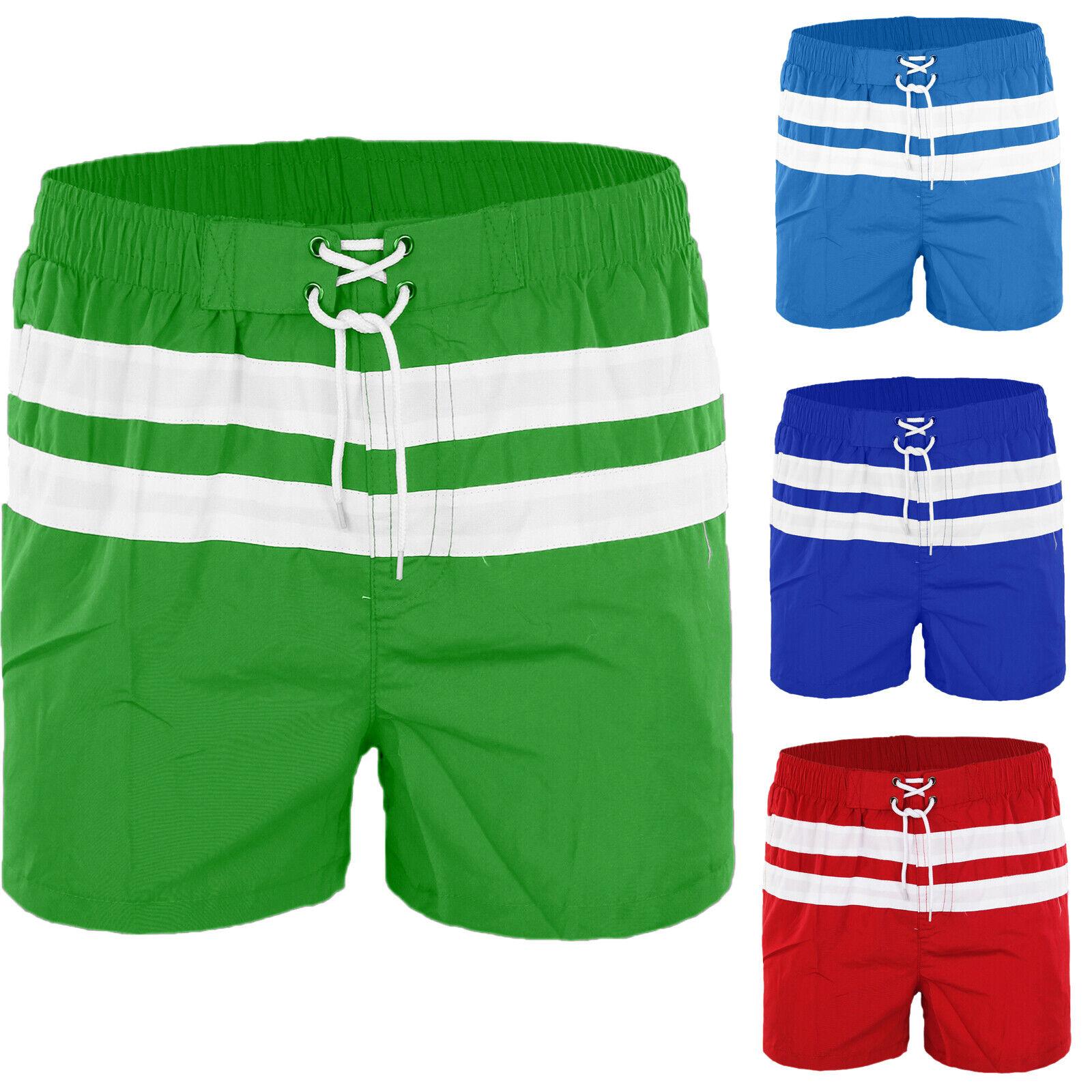Costume Uomo Mare Boxer Piscina Pantaloncino Casual Bermuda Shorts Corto