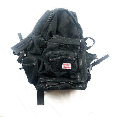 VTG Shorty's Backpack Skateboard Skateboarding Bag Skater School Black 90s Rare