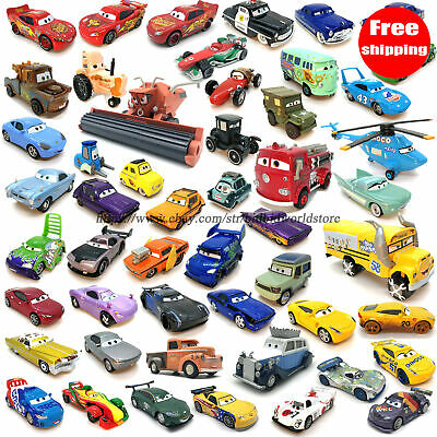 Disney Mattel Pixar Cars1/2/3 Metal Diecast Vehicle Kid Model Car Gift Toy Loose