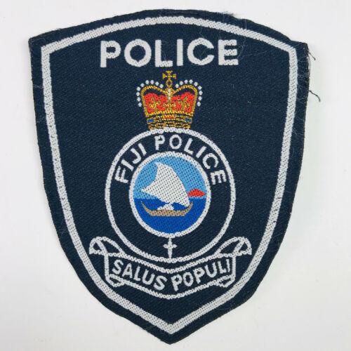 Fiji Police Salus Populi Patch