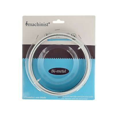 Imachinist Bi-metal Metal Cutting Band Saw Blades 60-inch X 12-inch X 14 Tpi