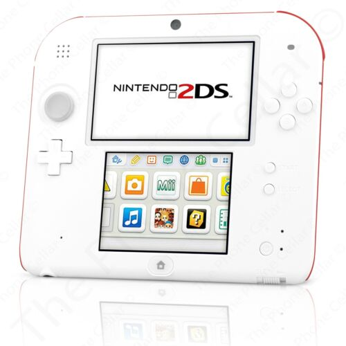 Nintendo - Nintendo 2DS New Super Mario Bros (Scarlet Red)