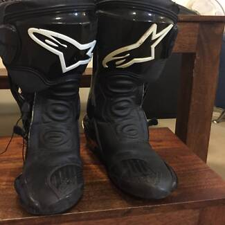 Alpinestars mortocycle boots S-MX PLUS Black Size  45 Chippendale Inner Sydney Preview