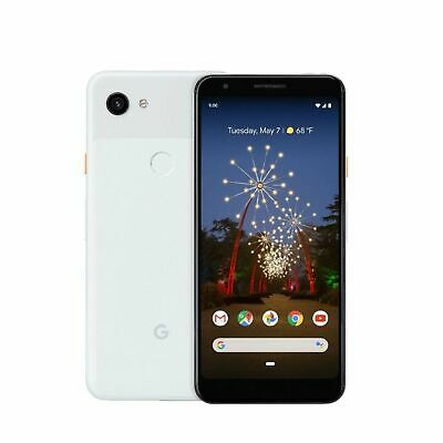 Google Pixel 3A 64GB GSM/CDMA Unlocked Android Phone - Clearly White