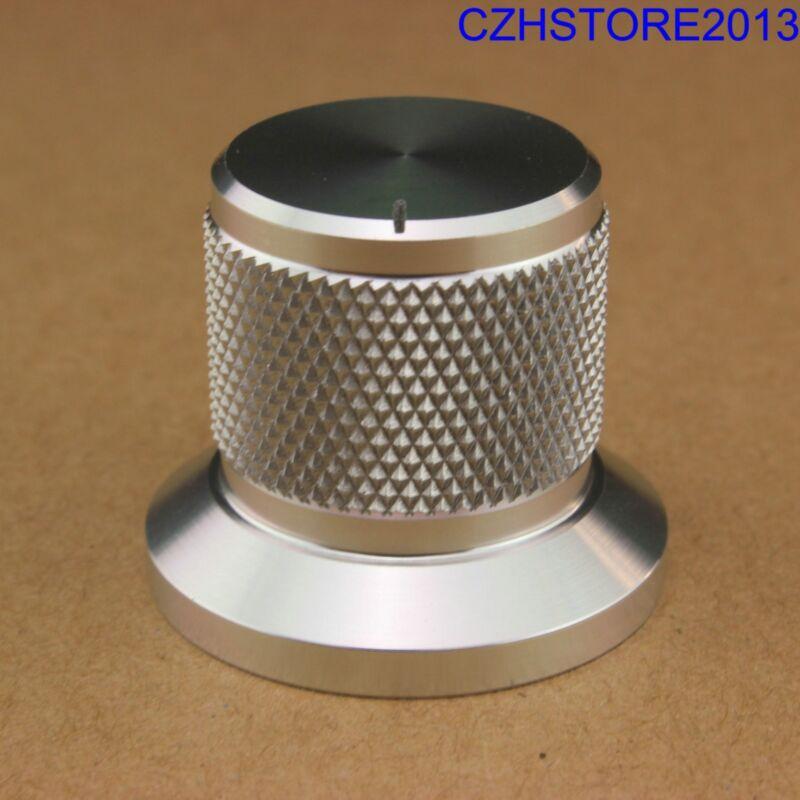 1PC 30*25mm Solid Aluminum Tube Amplifier DAC CD Turntable Potentiometer Knob