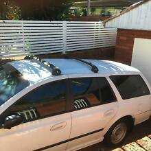 FORD FALCON ROOF RACK/BARS BA/BF 10/02- 02 03 0 09 1 Yagoona Bankstown Area Preview