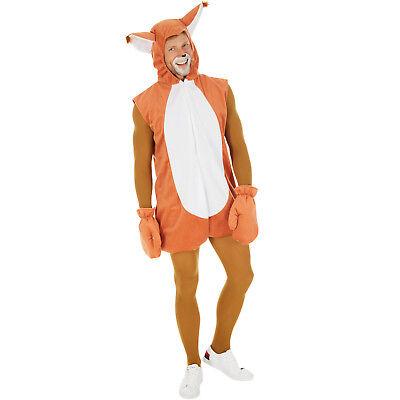 Eichhörnchen Kostüm Frauen Männer Karneval Fasching Halloween Schwanz - Eichhörnchen Kostüm Frauen