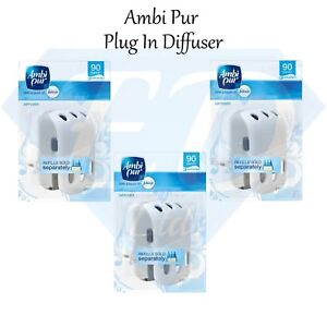 Ambi Pur 3Volution Electric Plug In Adjustable Diffuser Machine - 3 Pack NEW