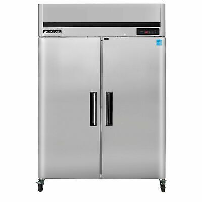 New Maxx Cold Mcrt-49fd Commercial Top Mount Reach In Refrigerator Cooler