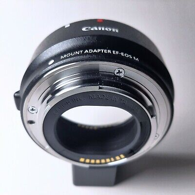 Genuine Canon Original EF-EOS M Mount Adapter Ring For EF Lens Camera Lens Adapter Ring