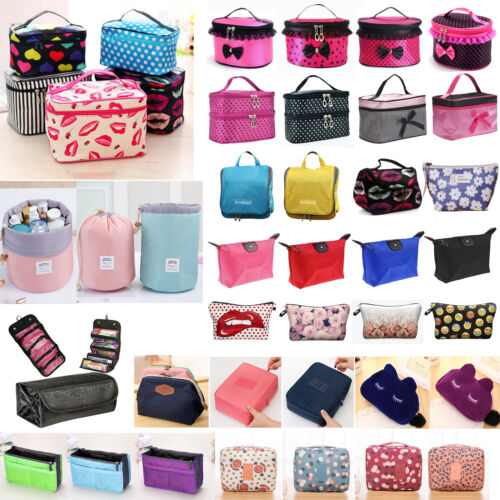Travel Large Cosmetic Bag Makeup Case Toiletry Wash Organize