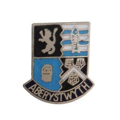 Aberystwyth Wales Crest Small Pin Badge