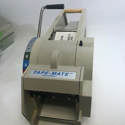 Tape Mate. Micro General Paper Tape Dispenser Machine
