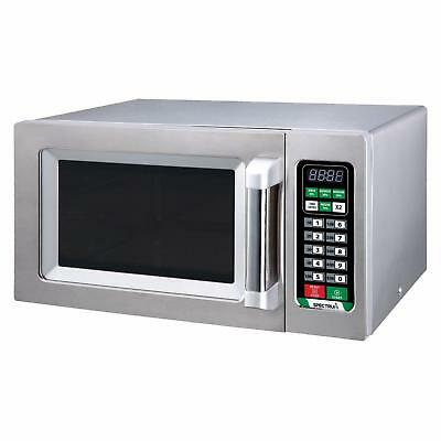 Winco Emw-1000st 1000 W Spectrum Commercial Microwave Stainless Steel Etl