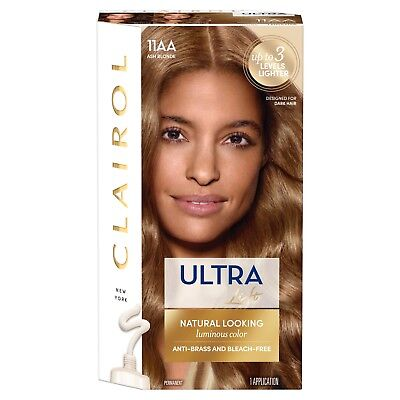 Clairol Blonde Lift (Clairol Ultra Lift Luminous 11AA Ash Blonde Hair Color)