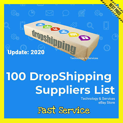 100 Dropshipping Suppliers List 0.99 Drop Shipping Update 2020