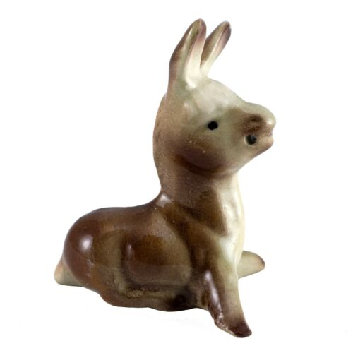 Vintage Hagen Renaker Mama Burro Donkey #150 Miniature Ceramic Figurine
