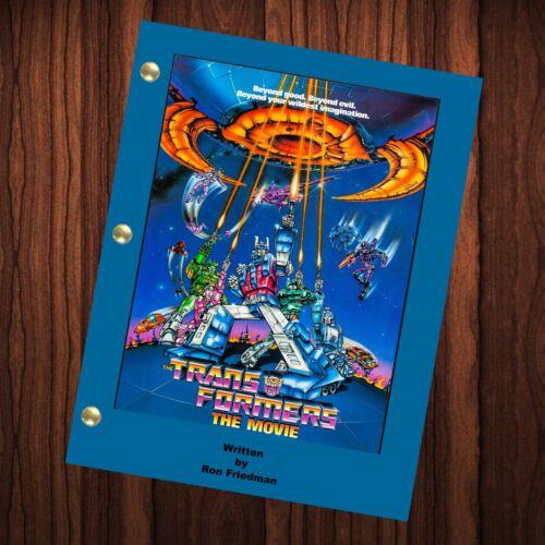 Transformers Movie Script Reprint Full Screenplay Full Script Transformers 1986