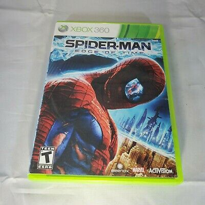 Spider-Man Edge Of Time - Xbox 360 - Complete - Tested