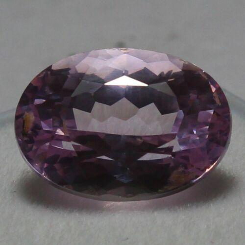 Natural 11.80 Ct Certified Brazilian Pink Purplish Morganite Unheated Gemstones