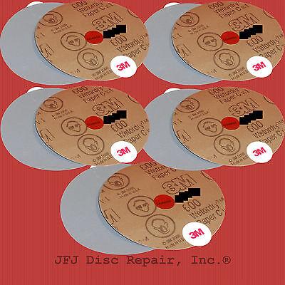 10 JFJ Coarse Sandpaper 600 Grit 3M (10 Pack) JFJ Easy Pro Double