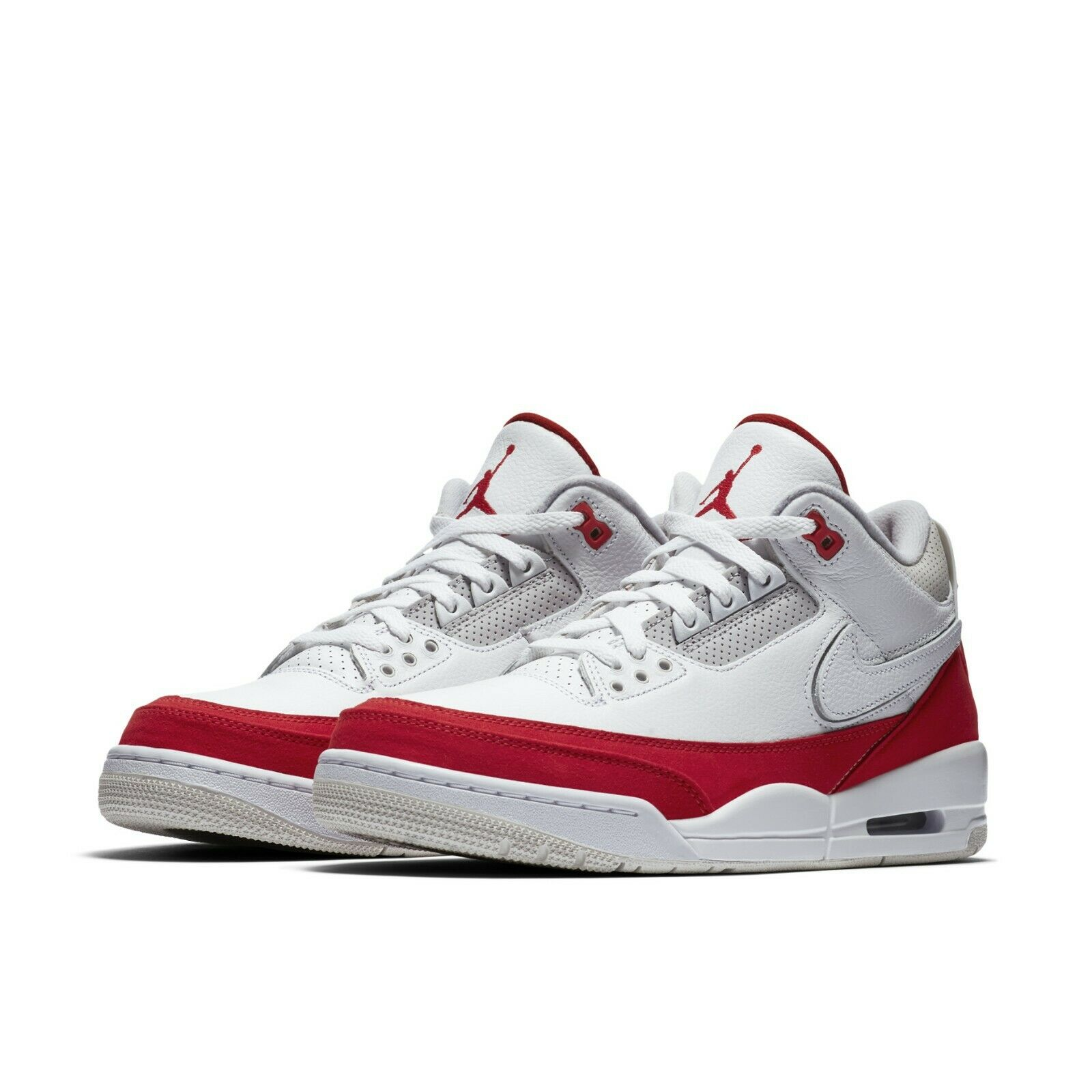 watch 1b360 6e7f0 Details about Nike Air Jordan 3 Retro TH SP Tinker Hatfield Air Max 1 AJ3  White Red CJ0939-100