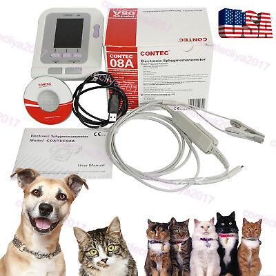 Catdoganimalvet Automatic Blood Pressure Monitor Spo2 Tongue Probepr Pc Sw