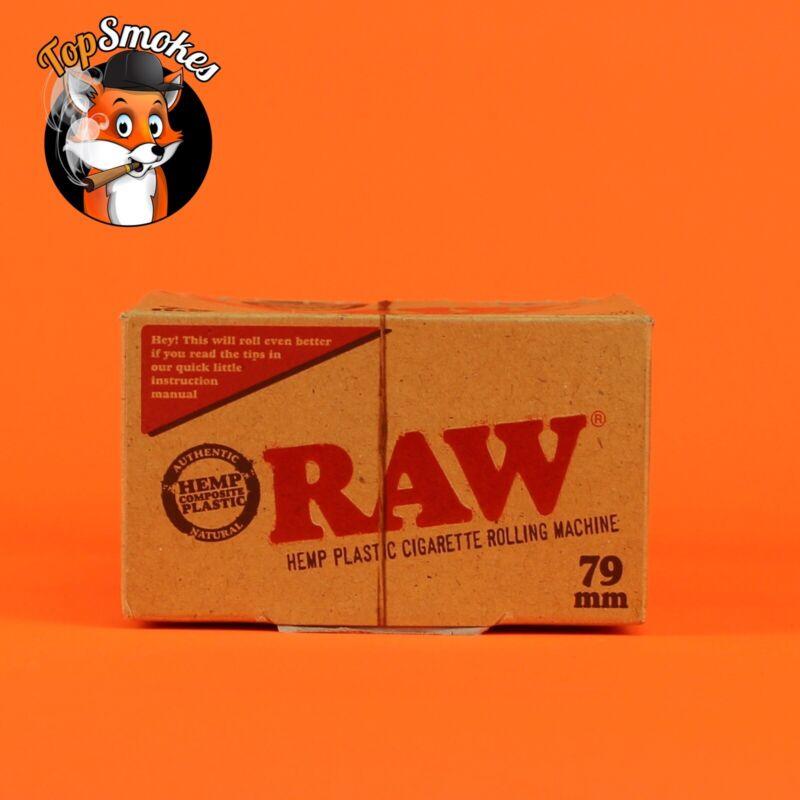 12 Pack Box 79mm 1 1/4 RAW Paper Cigarette Roller Hand Rolling Machine Hemp USA