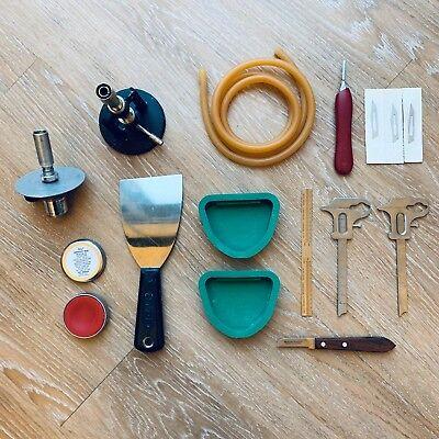 Dental Removable Waxing Instruments Torch Bunsen Burnercaliper Buffalo Knife