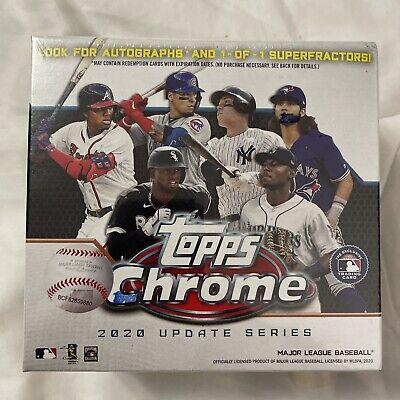 2020 Topps Chrome Update Series Baseball Mega Box Target Exclusive NEW