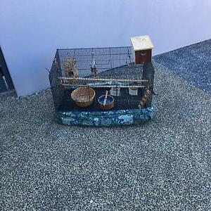 Bird cage and accessories Carinda Walgett Area Preview