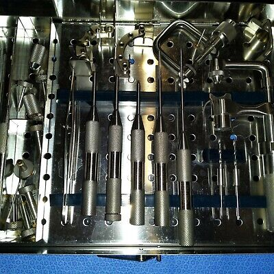 Leibinger Orthopedic Surgical Bosker -t.m.i. Instrument Set 01-25000.in Case