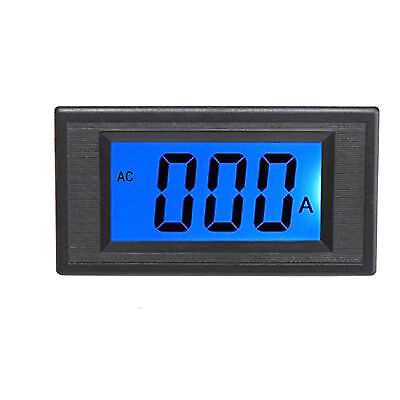 Us Stock Blue Lcd Digital Amp Current Panel Meter Ammeter Ac 200a Shunt