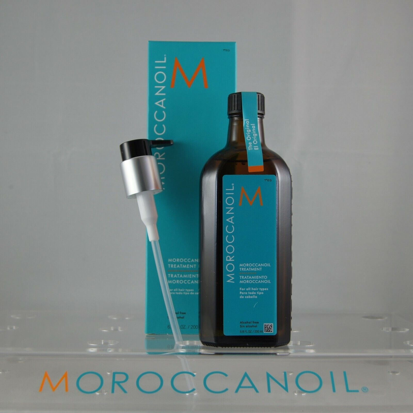 Moroccan Oil Treatment by Moroccanoil for Unisex - 6.8 oz Oi