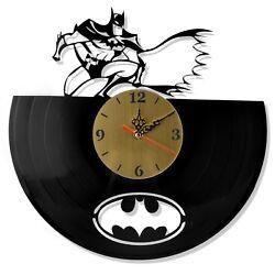 NEW  Vinyl Record Wall Clock Batman Classic, modern decorative art ~ 12